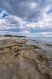 Salinas beach in Ibiza Royalty Free Stock Image