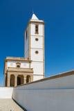 Salinas church Rodalquilar, Almería, Spain Stock Photography