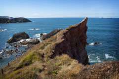 Salinas cliff Royalty Free Stock Photos
