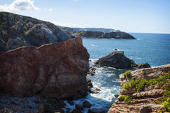 Salinas cliff Royalty Free Stock Images