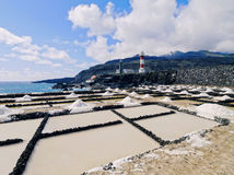 Salinas de Fuencaliente, La Palma Stock Photo