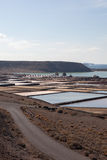Salinas de janubio Royalty Free Stock Photo