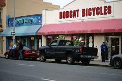 Salinas de la calle comercial foto de archivo libre de regalías