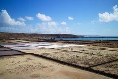 Salinas 008 de Lanzarote Imágenes de archivo libres de regalías