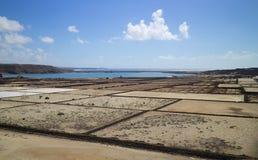 Salinas 006 de Lanzarote Foto de archivo