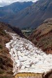 Salinas de Maras Stock Image
