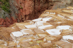 Salinas de Maras ancient salt mines Royalty Free Stock Photography