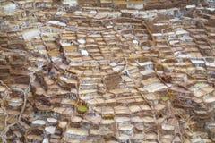 Salinas de Maras ancient salt mines, Cusco, Peru. Stock Image