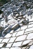 Salinas de Maras, Perú Imagen de archivo libre de regalías