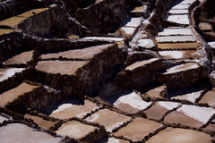 Salinas de Maras, Peru Royalty Free Stock Images