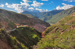 Salinas de Maras, Sacred Valley, Peru Royalty Free Stock Photo