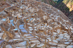 Salinas de Maras, Sacred Valley, Peru Royalty Free Stock Images