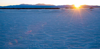 Salinas Grandes, Andes, Argentina Royalty Free Stock Photography