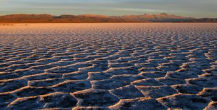 Salinas Grandes, Argentina Stock Images