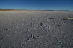 Salinas Grandes in Argetina Royalty Free Stock Photo