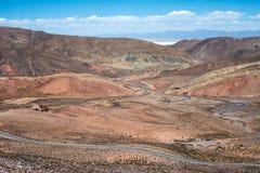 Salinas Grandes Desert Landscape Royalty Free Stock Photo