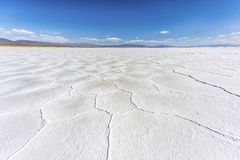 The Salinas Grandes in Jujuy, Argentina. Royalty Free Stock Image