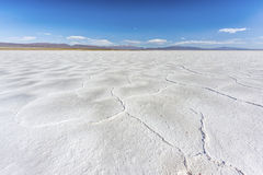 The Salinas Grandes in Jujuy, Argentina. Stock Photos