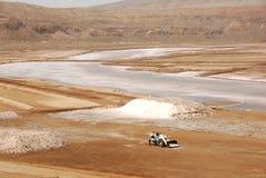 Salinas - isla de la sal, Cabo Verde Imágenes de archivo libres de regalías
