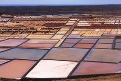 Salinas, Lanzarote Stock Image