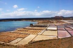 Salinas, Lanzarote Royalty Free Stock Images