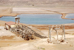 Salinas - Sal Island, Cape Verde. Salinas - Pedra de Lume, Island Sal, Cape Verde Stock Image