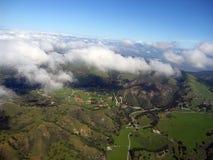 Salinas Valley 03. Aerial view of Salinas valley, CA royalty free stock photography