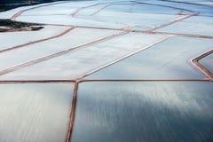 Saline aerial view in shark bay Australia. Saline aerial view in shark bay Monkey Mia Australia royalty free stock photography