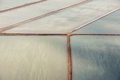 Saline aerial view in shark bay Australia Stock Photography