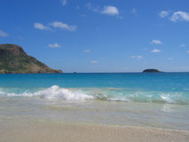 Saline beach, St. Barts, French West Indies Stock Photo