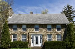 Saline Cobblestone House Stock Photos