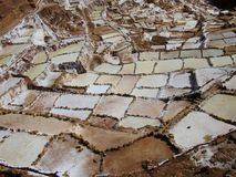 Saline de Mara immagine stock libera da diritti
