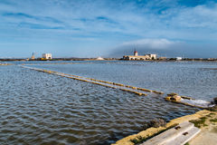 Saline di Trapani Stock Photography