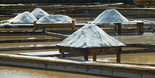Saline exploration in Rio Maior - Portugal Stock Photos