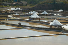Saline exploration in Rio Maior - Portugal Stock Photo