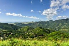 Saline paesaggio, Porto Rico fotografia stock