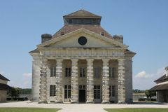 Saline Royale in Arc et Senans. Historic building made by Claude-Nicolas Ledoux architect, in Arc et Senas France. Saline Royale in Arc et Senans. Historic Royalty Free Stock Photos
