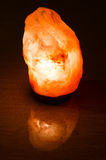 Saline (salt) lamp Royalty Free Stock Photos