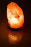 Saline (salt) lamp Royalty Free Stock Photos