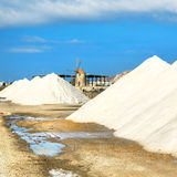 Saline of Trapani Royalty Free Stock Photos