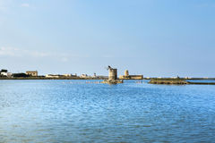 Saline of Trapani Royalty Free Stock Photo