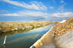 Saline of Trapani Stock Images