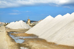 Saline of Trapani Stock Image
