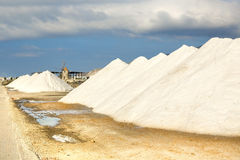 Saline of Trapani Stock Photo