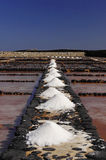 Salinen auf dem Fuerteventura Stockfotografie