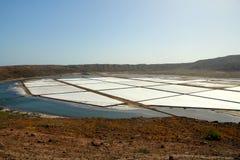 Salinen Cabo Verde Lizenzfreie Stockfotografie