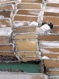 Salinen (Peru) Stockbild