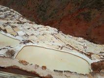 Salineras Del Maras Obraz Stock