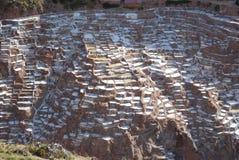 Salines de Maras Image libre de droits