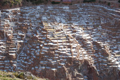 Salines di Maras immagine stock libera da diritti